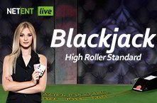 Live Black Jack Standard High Roller